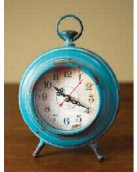Pocket Watch Table Clock Aqua by