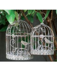 Swirl Bird Cage Set of 2 by