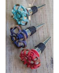 Winery Faucet Handle Wine Stopper Set by
