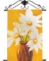 Golden Daisies Canvas Art by