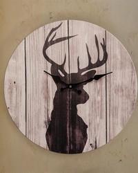Greystone Deer Wall Clock by