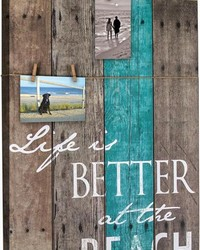 Life Is Better At The Beach Sign by