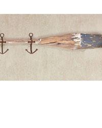 Anchored Oar Wall Hook Set  by