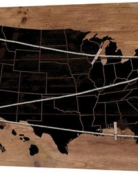 Usa Map Note Board by