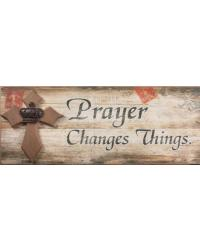 Word Sign Prayer Changes Things by