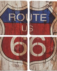 Route 66 Coaster Set  by