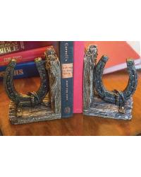 Western Horseshoe Bookend Set of 2 by