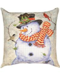 Its Cold Outside Pillow by