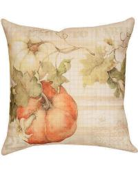 Pumpkin Farm To Table Pillow by