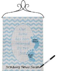 Our Home Enlarged Boy Small Banner by
