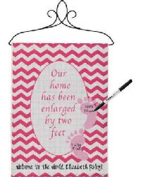 Our Home Enlarged Girl Small Banner by