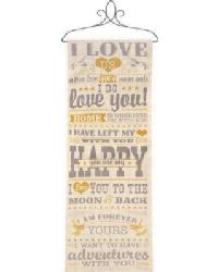 Love Wall Panel by