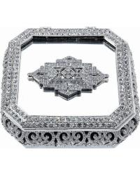Large Deco Mirror Box by