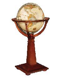 Logan Floor Globe by