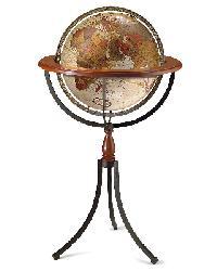 Santa Fe Floor Globe by
