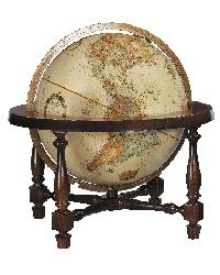 Colonial Table Globe by