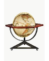 Hexagon Table Globe by
