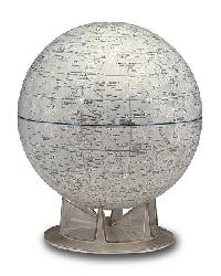 Moon Table Globe by