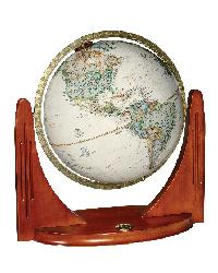 National Geographic Compass Star Desk Globe by