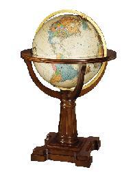 Annapolis Illuminated Floor Globe by