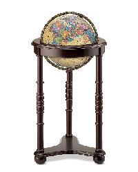 Lancaster Illuminated Floor Globe by