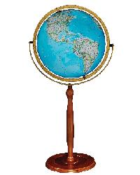 National Geographic Chamberlin Illuminated Floor Globe by