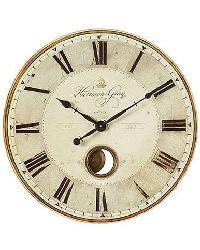 Harrison Gray 31 Inch Wall Clock by