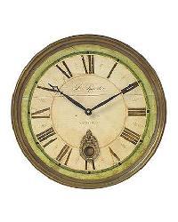 Regency B. Rossiter 18 Inch Wall Clock by