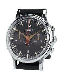 Geneva Silver Wristwatch Table Clock by