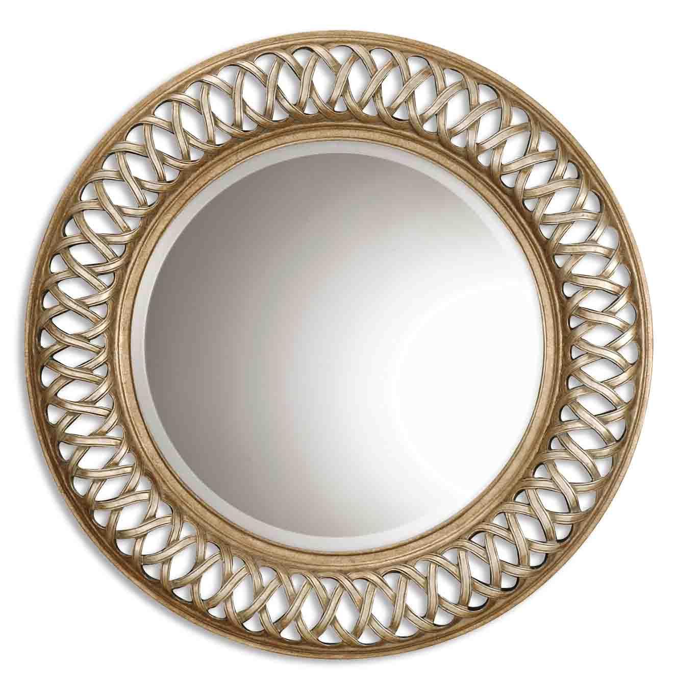 Entwined Round Mirror Uttermost Interiordecorating