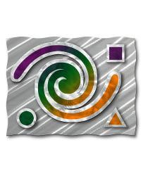 Geometric Swirl by