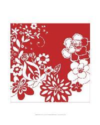 39028D Vibrant Tokyo Garden VI by