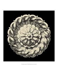 54726Z Black and Tan Rosette IV by