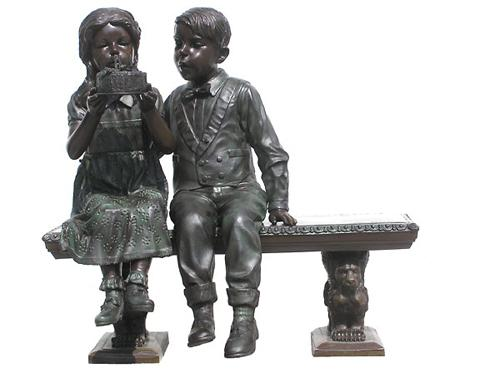New bronze statues and figurines available in many designs including ...