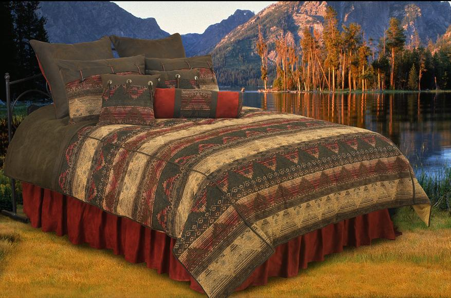 Luxury Chenille Suede Sierra Comforter Set 7pc Super