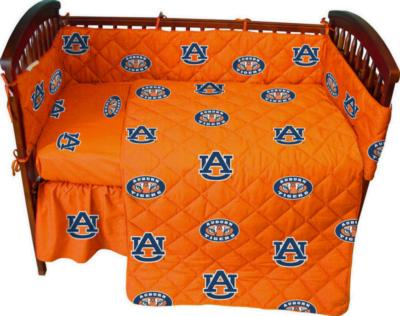 College Covers Auburn Tigers Crib Bedding Set  College Baby Bedding