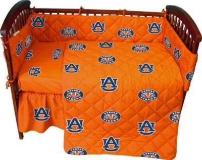 College Covers Auburn Tigers Crib Bedding Set  College Baby Bedding