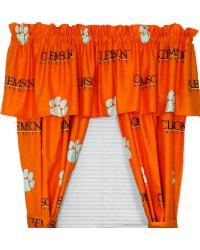 Clemson Tigers Curtain Panels by