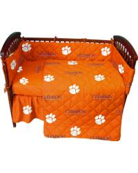 Clemson Tigers Crib Bedding Set by
