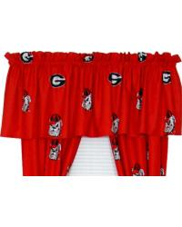 Georgia Bulldogs Valance by