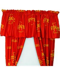 Iowa State Cyclones Curtain Panels by