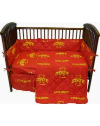 Iowa State Cyclones Crib Bedding Set by