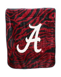 Alabama Crimson Tide Raschel Throw Blanket 50x60 by