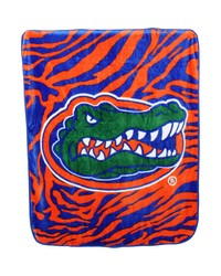 Florida Gators Raschel Throw Blanket 50x60 by