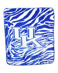 Kentucky Wildcats Raschel Throw Blanket 50x60 by