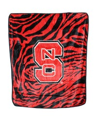 North Carolina State Wolfpack Raschel Throw Blanket 50x60 by