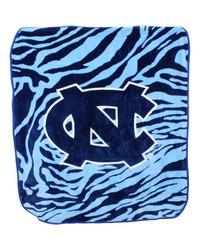 North Carolina Tar Heels Raschel Throw Blanket 50x60 by