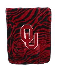 Oklahoma Sooners Raschel Throw Blanket 50x60 by