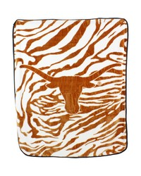 Texas Longhorns Raschel Throw Blanket 50x60 by