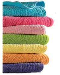 Full/Queen Cotton Velvet Quilt Turquoise by